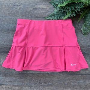 Nike Pink Lined Mini Skirt